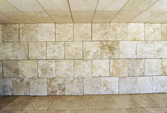 Floor, wall, ceiling Stock Images