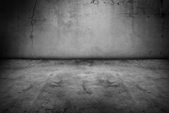 Floor and wall. Empty floor and blank wall Royalty Free Stock Photos