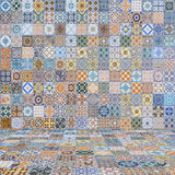 Floor and wall tiles vintage Stock Photos