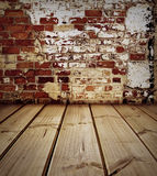 Floor and wall Stock Images