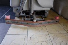 Floor washer machine Royalty Free Stock Photo