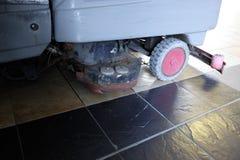 Floor washer machine Stock Image
