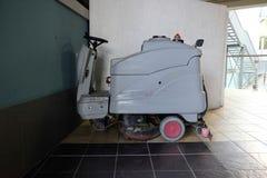 Floor washer machine Royalty Free Stock Photos