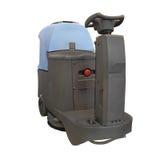 Floor washing machine Royalty Free Stock Images