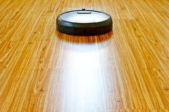 Floor washing robot 4 royalty free stock images