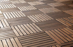 Floor from wooden boards Stock Image