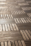 Floor from wooden boards Stock Photography