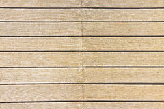 Floor wooden slats for outdoor use Stock Photography