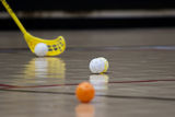 Floorball Stock Image