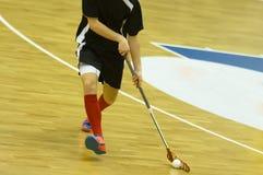Floorball Foto de Stock