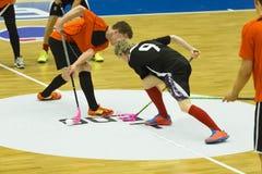 Floorball Imagem de Stock