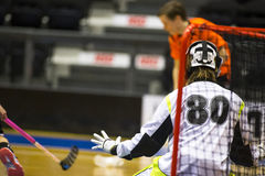 Floorball Fotografia Royalty Free
