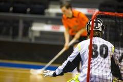 Floorball Στοκ Φωτογραφία