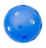 Floorball azul Imagen de archivo libre de regalías