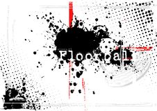 Floorball background 3 Royalty Free Stock Image