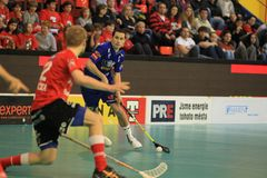 Floorball - czech league Stock Photos