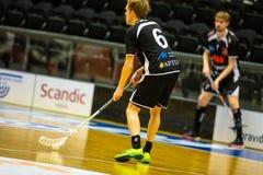 Floorball division 1, IBK Lulea vs Skelleftea IBK - EDITORIAL stock image