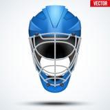 Floorball and Floor Hockey Helmet Stock Images
