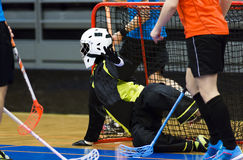 Floorball Royalty Free Stock Photos
