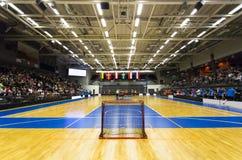Floorball gra Zdjęcia Stock