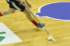 Floorball Royalty Free Stock Image