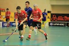 Floorball - Stresovice vs. Vitkovice Stock Photo
