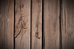 Floorboards with knots Royalty Free Stock Photo