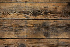 Floorboards velhos Fotografia de Stock