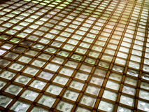 Flooriing iluminado geométrico foto de stock