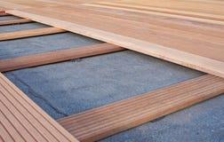 Flooring. Renovating a wooden floor. Flooring Stock Images