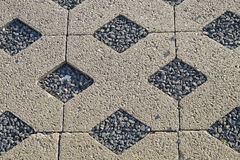 Free Flooring Assembled On A Substrate Of Sand Type Permeable To Water Stock Photos - 83388693