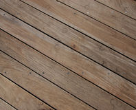 Flooring background made with old planks Stock Image