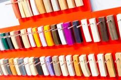 Flooring clorful palette Stock Photos