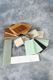 Flooring Countertop and Backsplash Samples Royalty Free Stock Photos