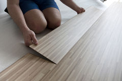 Flooring at home Royalty Free Stock Photography