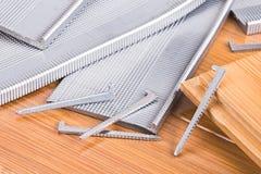 Flooring Nails Royalty Free Stock Photo