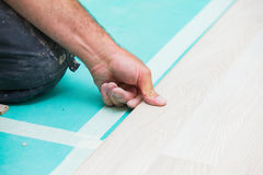 Flooring renovation Royalty Free Stock Image