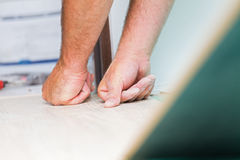 Flooring renovation Royalty Free Stock Photography