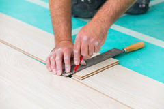 Flooring renovation Royalty Free Stock Photo