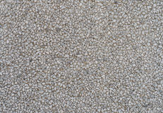 Flooring with small pebbles Stock Photography