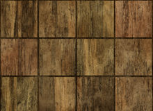 Flooring square wood panel backgrounds Stock Photo