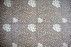 Flooring Tile. With many color and design Royalty Free Stock Photography