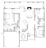 Floorplan Stock Photography