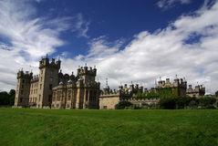 Floors Castle, Schotland. A castle in Scotland on a beatiful day stock image