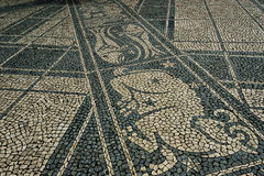 Floors in Lisbon Royalty Free Stock Images