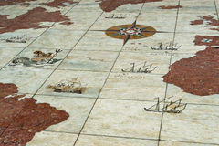Floors in Lisbon Royalty Free Stock Image