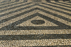 Floors in Lisbon Royalty Free Stock Photo