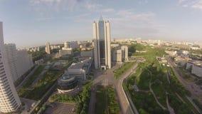 35 floors skyscraper Gazprom Headquarters Royalty Free Stock Photos