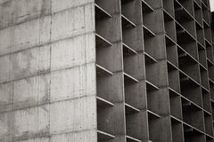 Floors of under construction multistory building. Royalty Free Stock Photos