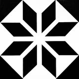 Floortile mozaiki projekt Obraz Royalty Free